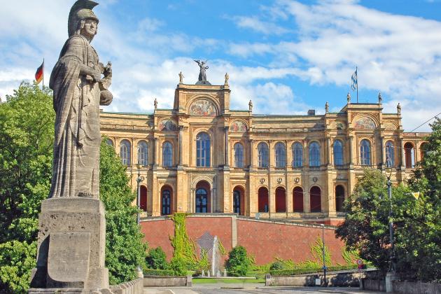 Bild vom Maximilianeum, Bayerischer Landtag
